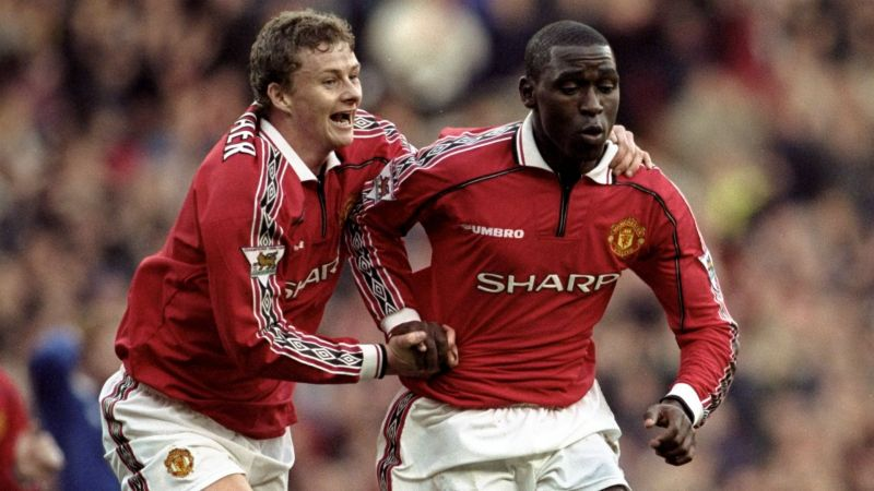Solskjaer and Cole - Cropped