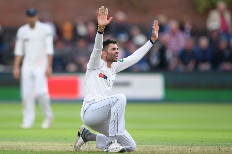 Keshav Maharaj has opened the bowling for South Africa in this series
