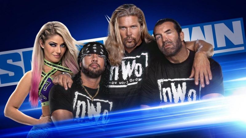 The nWo returned on Friday Night SmackDown