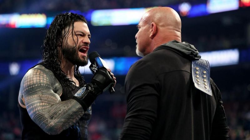 The Big Dog vs Goldberg at WrestleMania 36