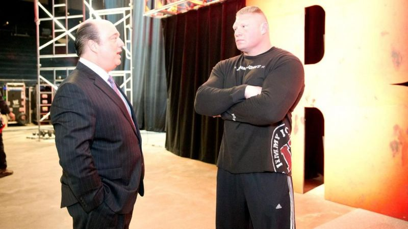 Paul Heyman is Brock Lesnar