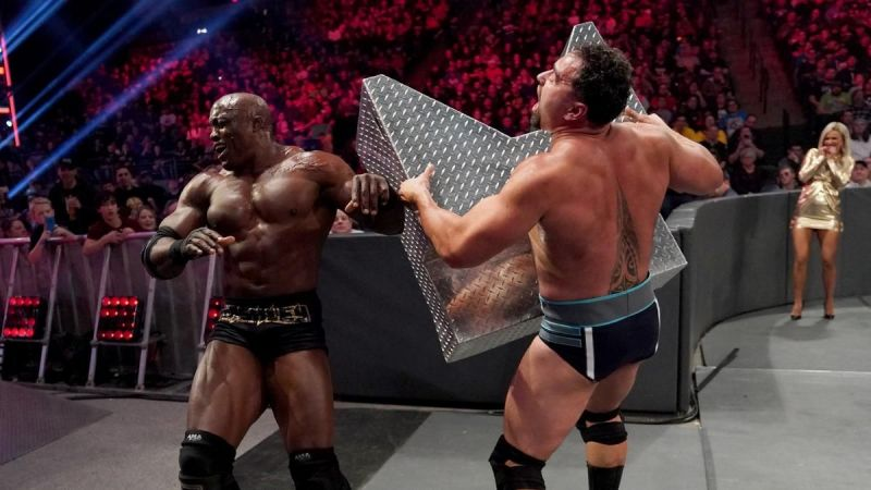 Bobby Lashley has been feuding with Rusev