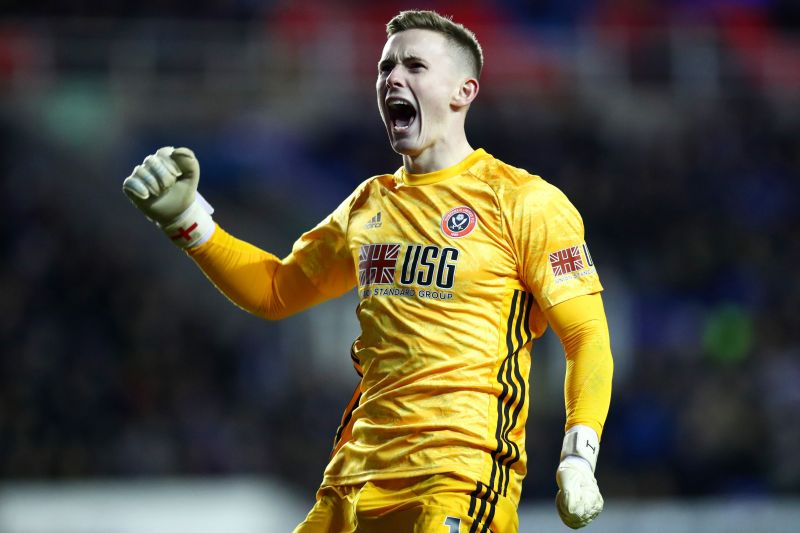 Dean Henderson has had no problem stepping up to the Premier League