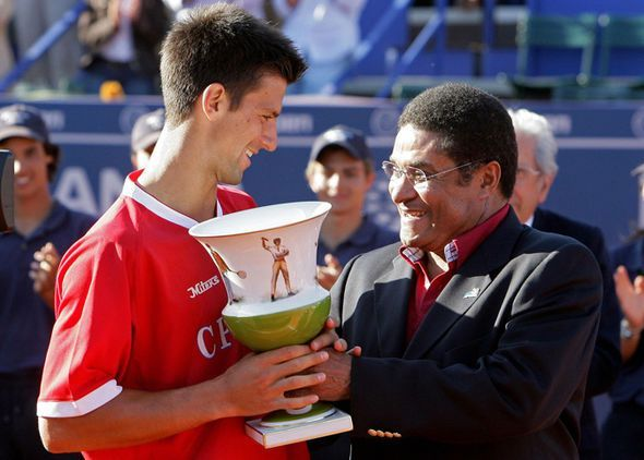 Djokovic lifted his third title of the 2007 season in Estoril