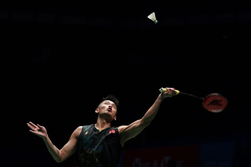 Five time world champion Lin Dan also looms in the same section.