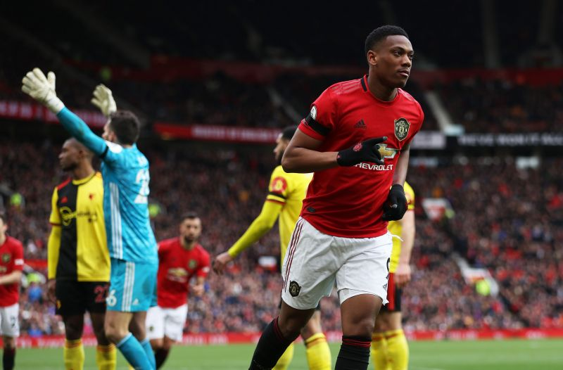 Anthony Martial will look to take advantage of Toby Alderweireld