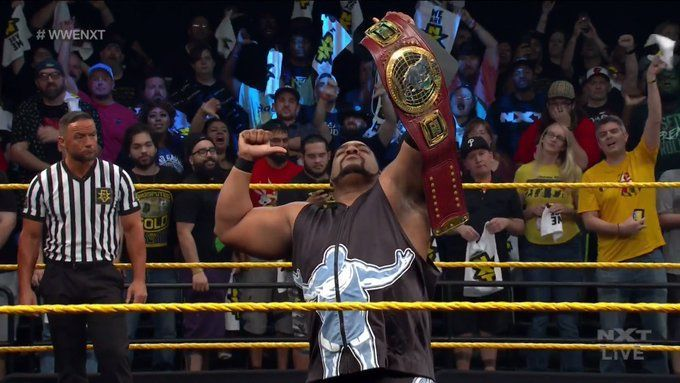 No matter where NXT is, the WWE Universe will forever Bask in his Glory