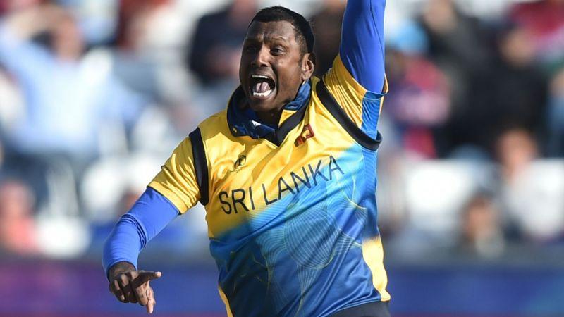 Angelo Mathews was Sri Lanka
