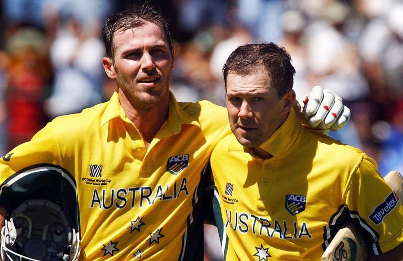 Ponting (R) and Martyn put up a 234-run stand (PC: Cricket.com.au)