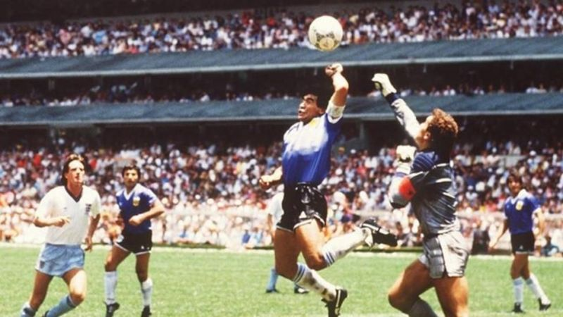 V AR would certainly have chalked off Diego Maradona