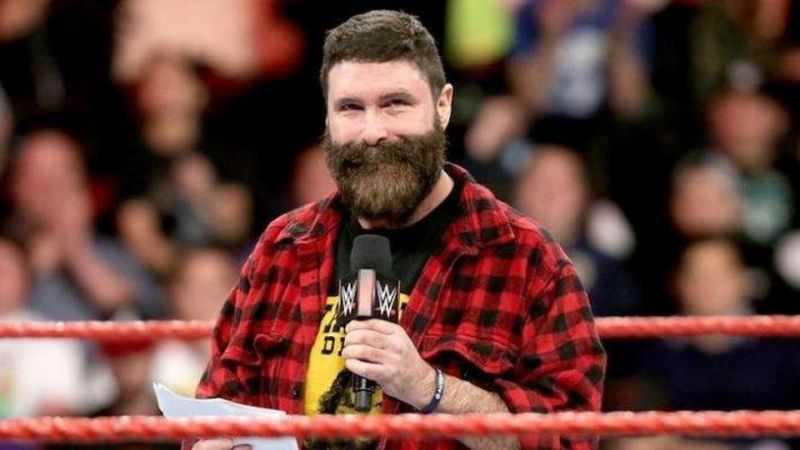 Mick Foley is a WWE Hall of Famer