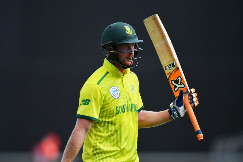 Heinrich Klaasen scored a century in the first ODI