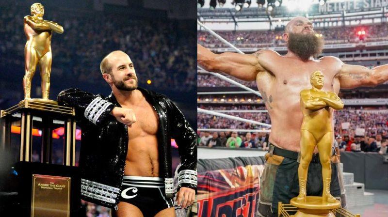 Cesaro and Braun Strowman