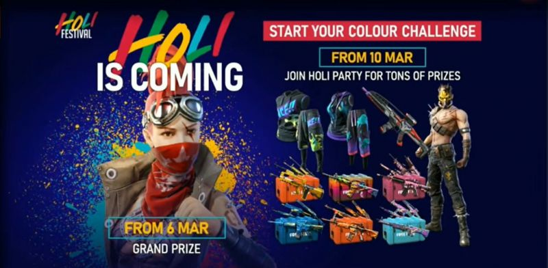 Holi event is coming