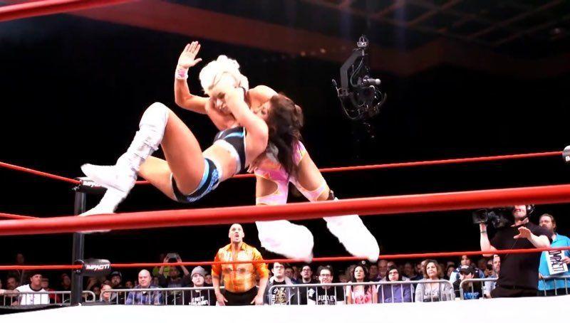 Tessa Blanchard & Taya Valkyrie reignite their incredible rivalry tonight