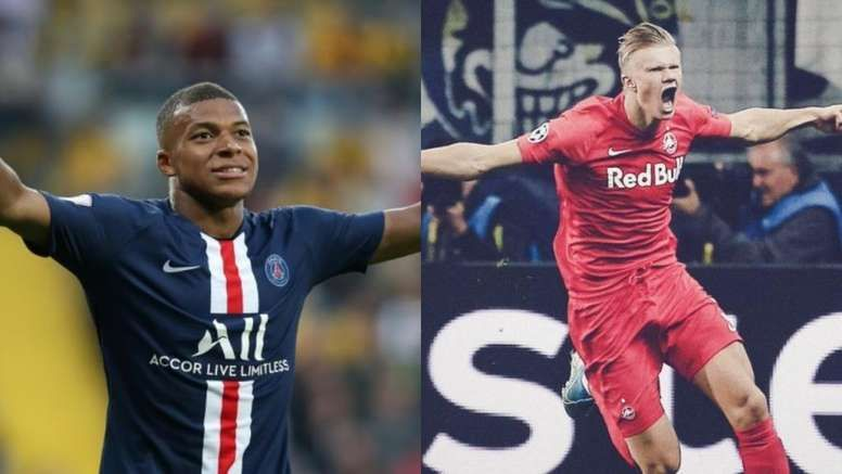 Haaland and Mbappe are touted as the future of football