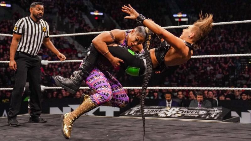 Bianca Belair had much to say about Lynch vs. Baszler