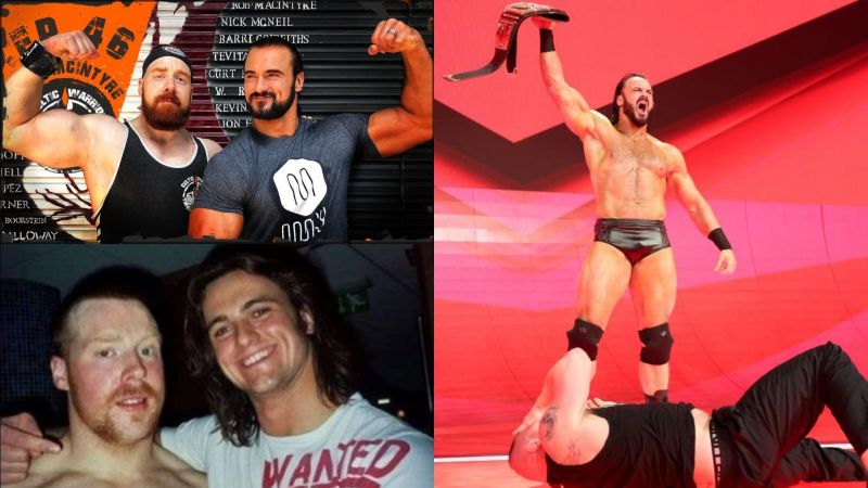 Drew McIntyre and Sheamus go way back!