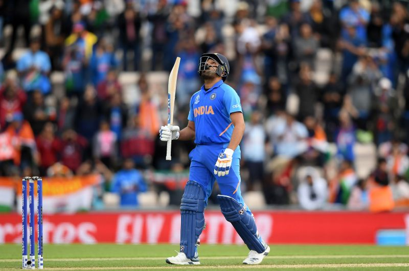 Rohit Sharma scored 648 runs in 9 matches at an average of 81 with five tons and a fifty in the CWC 2019