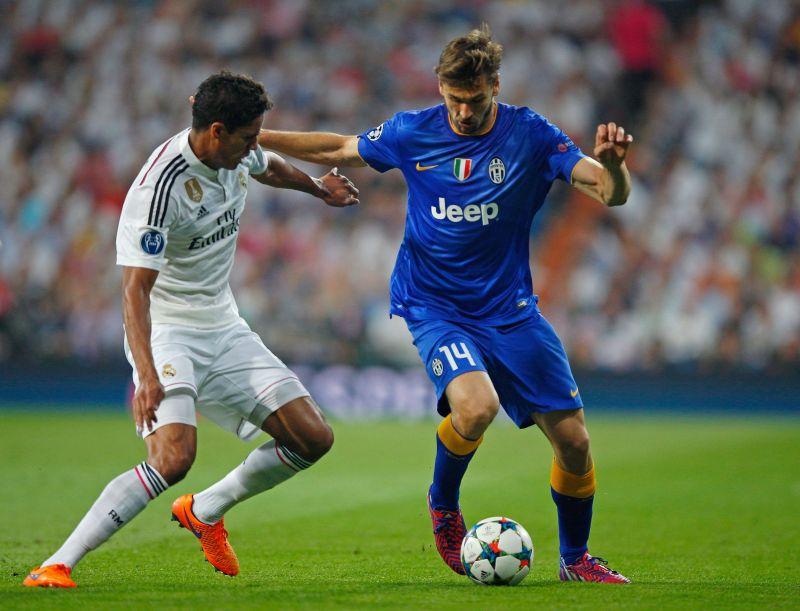Fernando Llorente in action against Real Madrid