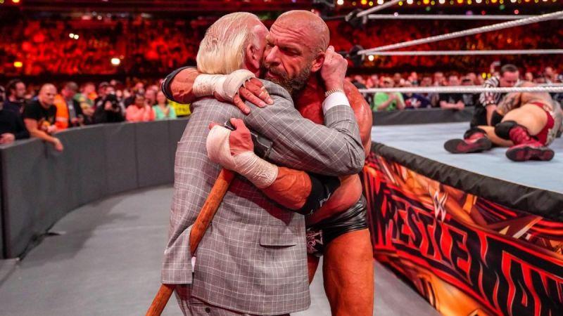 Triple H at WrestleMania 35