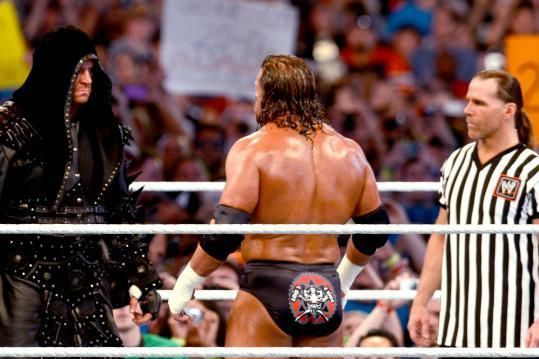The Undertaker, Triple H and Shawn Michaels