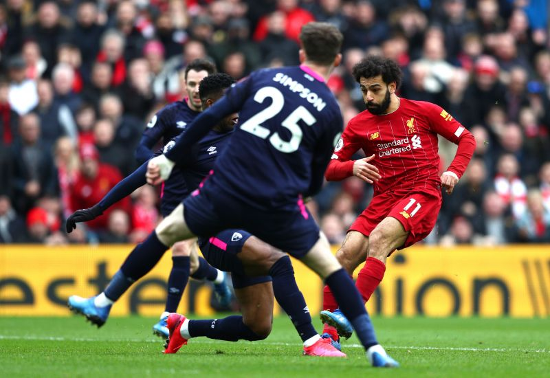 Salah now has 70 goals for Liverpool