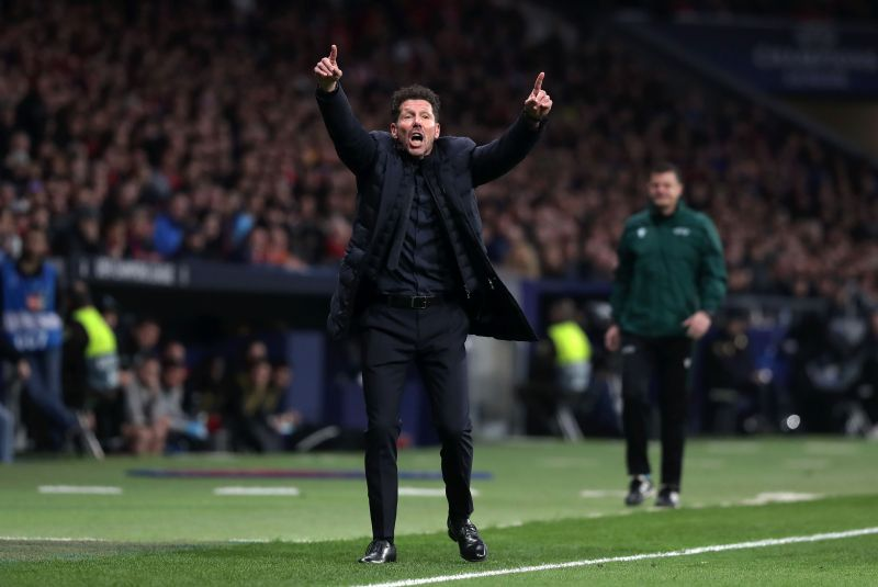 Atlético Madrid manager Diego Simeone wears his heart on his sleeve