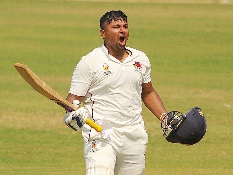 Sarfaraz Khan is the latest player to score a Ranji Trophy double century