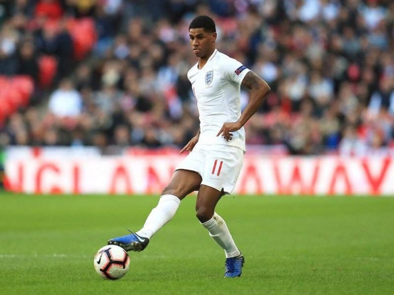 Rashford succumbed to a back injury that has kept him out of action since the turn of 2020