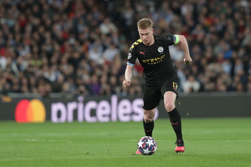 De Bruyne has been the standout player for Manchester City this season.