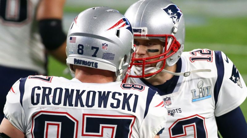 Gronk and Tom Brady were an unstoppable duo in the 2010s