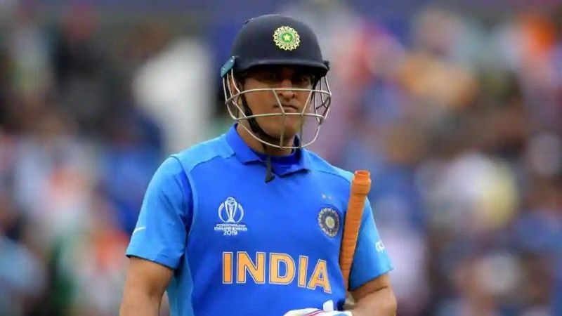 Dhoni has not featured for India since the semifinal loss to New Zealand in the 2019 World Cup