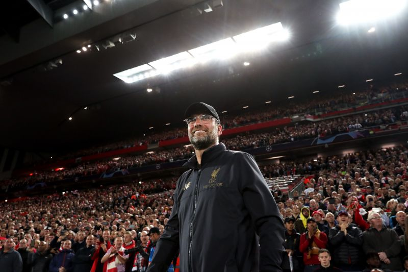 Klopp is a hero in his adopted city of Liverpool