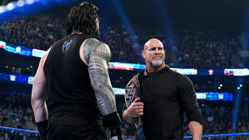 Goldberg vs. Roman Reigns is planned for WrestleMania 36