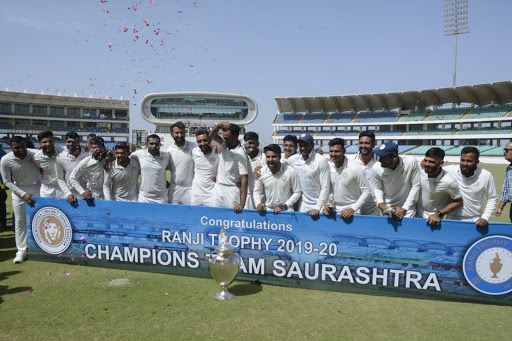 Saurashtra won the 2019-20 Ranji Trophy