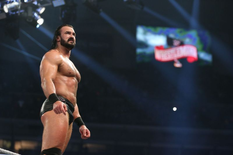 Drew McIntyre after winning the Royal Rumble