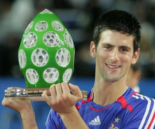 Djokovic lifts his second career singles title at 2006 Metz