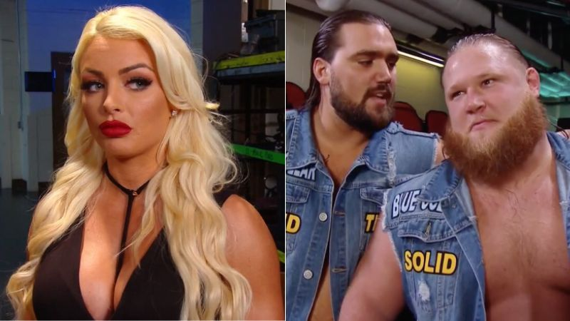 Tucker advised Otis to stop thinking about Mandy Rose