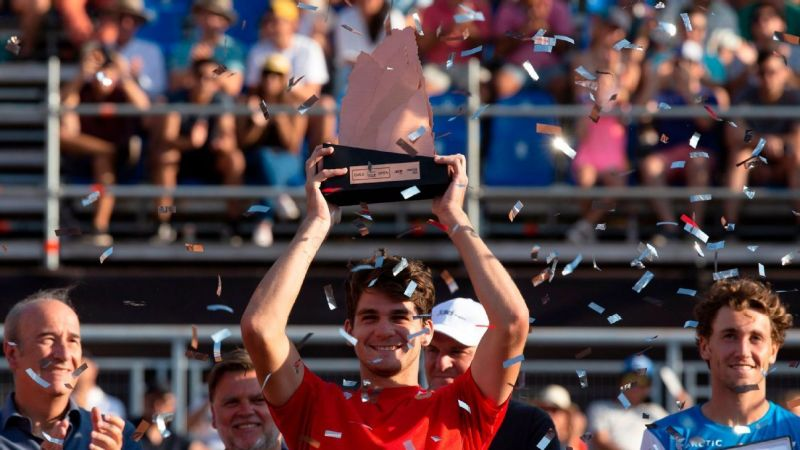 Thiago Seyboth Wild lifted the final title of the 2020 ATP Latin American