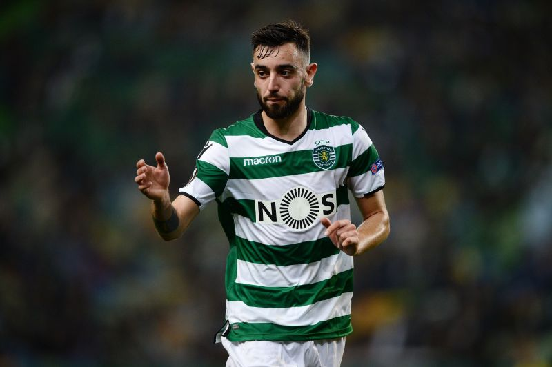 Bruno Fernandes during his time at Sporting Lisbon
