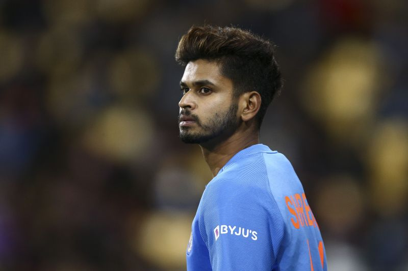 Indian batsman Shreyas Iyer