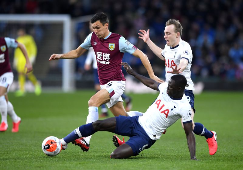 Davinson Sanchez had a poor game at the heart of Spurs