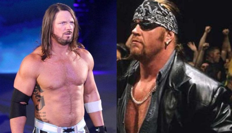 AJ Styles and The Undertaker