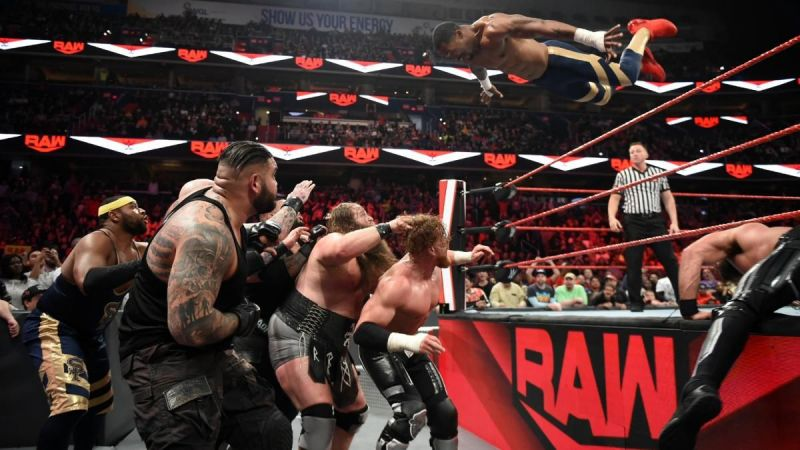 The main event of RAW.