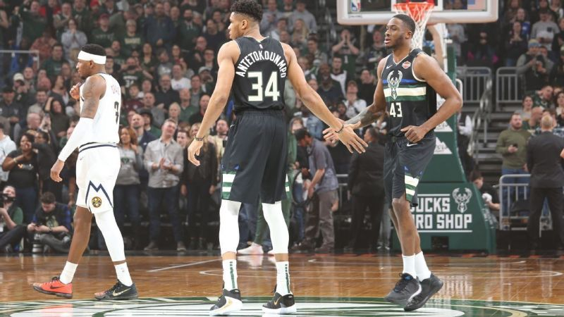 The Milwaukee Bucks have the best record in the NBA this season