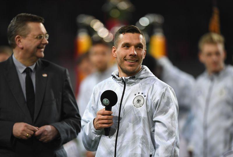 Lukas Podolski spent three years with Bayern Munich