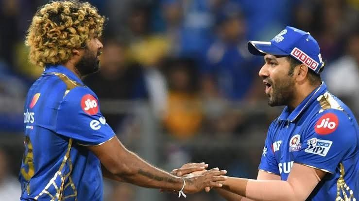 Lasith Malinga celebrating
