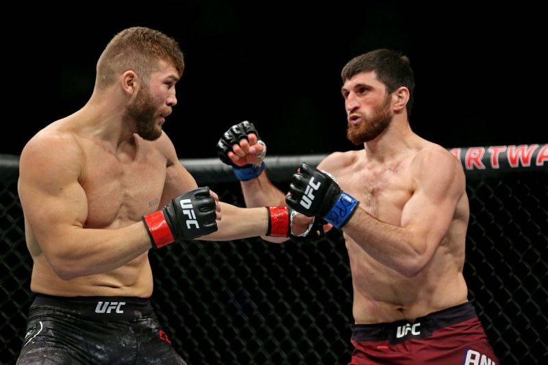 Ion Cutelaba and Magomed Ankalaev will feature in a rematch at UFC 249