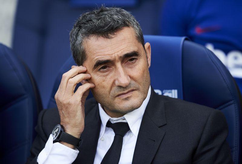 Former Barca manager Ernesto Valverde